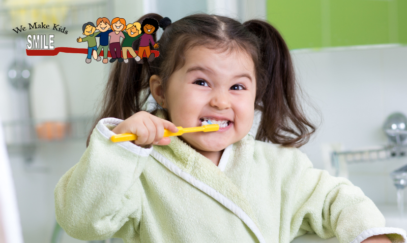 Tooth brushing tips for your toddler